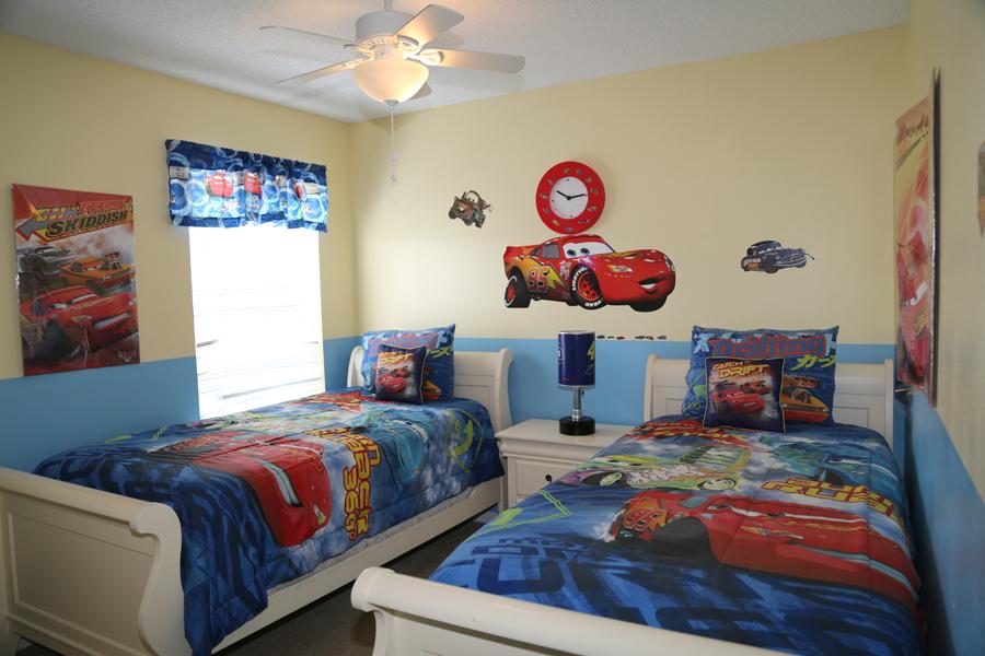 upstairs boy twin bedroom