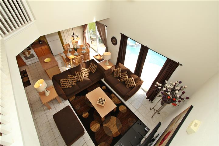 Family Room from second floor