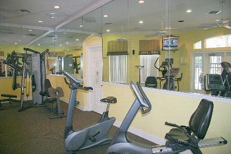 club house fitness center