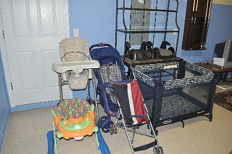 High Chair, Boosters, Strollers, and Kids Stuff