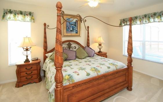Master Bedroom of master suite